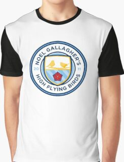 Noel Gallagher's High Flying Birds Crest Graphic T-Shirt