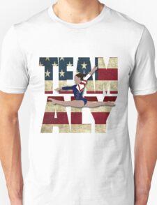 Team Aly Raisman - USA  Unisex T-Shirt