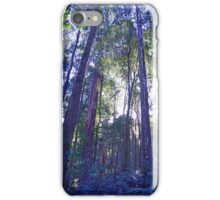 Sun Glimmers through the Trees - Triplet Falls iPhone Case/Skin