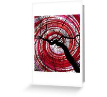 Hypnotic Nature Greeting Card