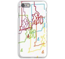 rhode island pride blur iPhone Case/Skin