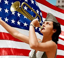 An American Trumpet  by MPeterson33