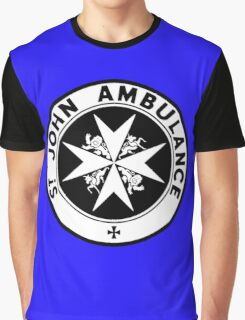 TARDIS St. John's Ambulance Logo (available as leggings!) Graphic T-Shirt