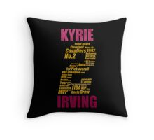 kyrie 2 collage kyrie irving Throw Pillow