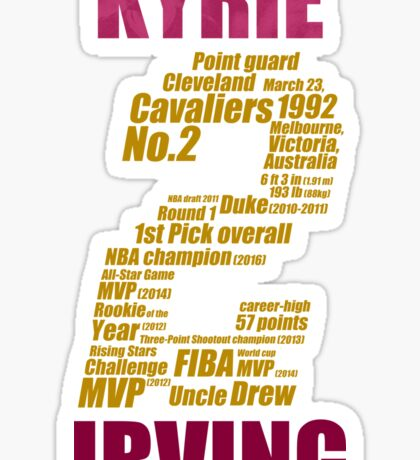 kyrie 2 collage kyrie irving Sticker