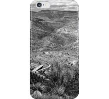 Beautiful Salt River Canyon ~ Black & White iPhone Case/Skin