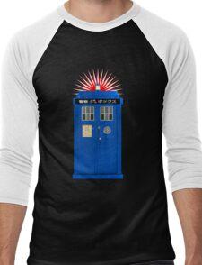 Japanese TARDIS Men's Baseball ¾ T-Shirt