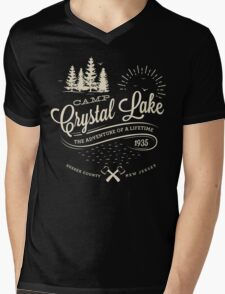 Camp Crystal Lake Mens V-Neck T-Shirt