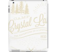 Camp Crystal Lake iPad Case/Skin