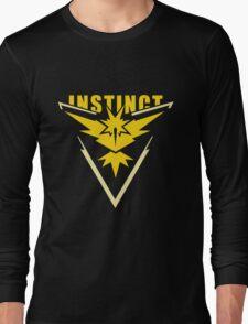 Team Instinct - Pokemon Go Long Sleeve T-Shirt