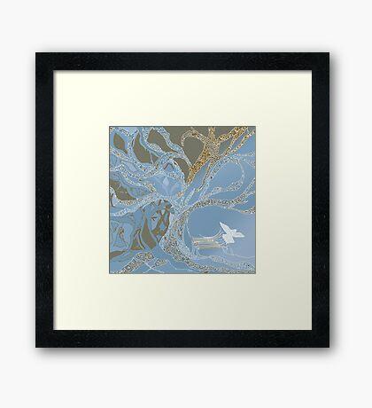 Tanya's Tree Framed Print