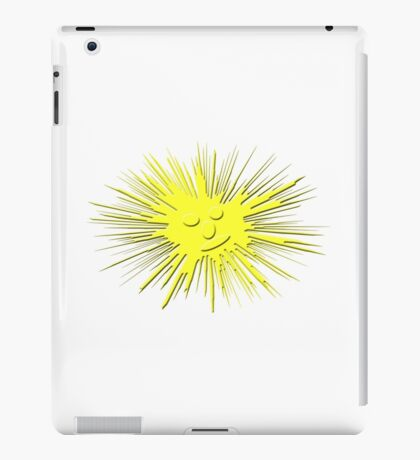 sunny smile iPad Case/Skin