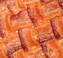 Bacon Weaved Mat by gregdestefano