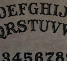 Ouija. Sticker