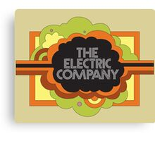 Electric Company Canvas Print