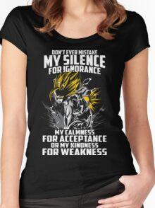 super saiyan gohan shirt - RB00448 Women's Fitted Scoop T-Shirt