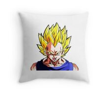 Train INSAIYAN Throw Pillow