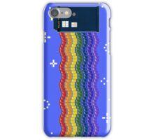 Rainbow TARDIS iPhone Case/Skin