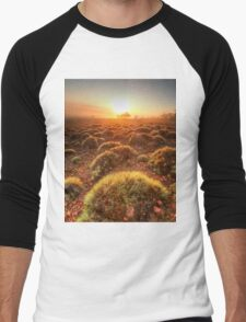Gawler Ranges sunrise Men's Baseball ¾ T-Shirt