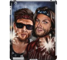 Happy Fourth of July from J2! iPad Case/Skin