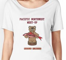Puzzle Pirates Pacific Northwest Meet-up Seattle 2017 Women's Relaxed Fit T-Shirt