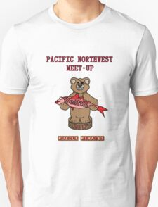 Puzzle Pirates Pacific Northwest Meet-up Seattle 2017 Unisex T-Shirt