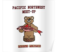 Puzzle Pirates Pacific Northwest Meet-up Seattle 2017 Poster