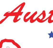 Austin Texas. Sticker