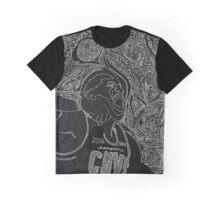 Lebron James' Portrait Story Graphic T-Shirt
