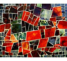 Bits and Pieces Paper Mosaic Photographic Print