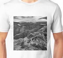 The view from Mount Howitt Unisex T-Shirt