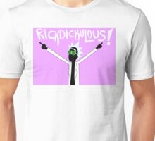 RICKDICKULOUS! - White Unisex T-Shirt