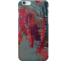 Crossroads Stay or Go iPhone Case/Skin