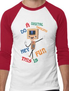Digital world Colin Men's Baseball ¾ T-Shirt