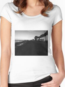 Causeway Noir Women's Fitted Scoop T-Shirt