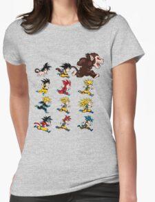 super saiyan goku shirt - RB00041 Womens Fitted T-Shirt