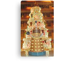 Dalek Christmas Canvas Print