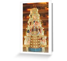 Dalek Christmas Greeting Card