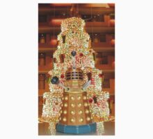 Dalek Christmas Kids Tee