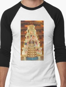 Dalek Christmas Men's Baseball ¾ T-Shirt