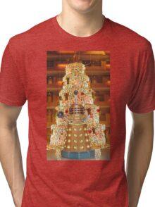 Dalek Christmas Tri-blend T-Shirt
