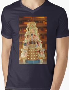 Dalek Christmas Mens V-Neck T-Shirt