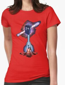TARDIS TRON Womens Fitted T-Shirt
