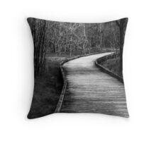 Wetlands Walk Throw Pillow
