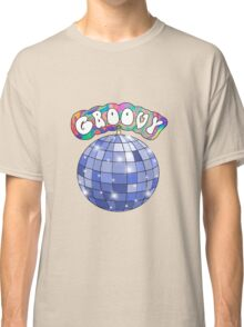 70s disco ball groovy Classic T-Shirt