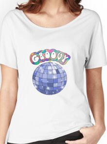 70s disco ball groovy Women's Relaxed Fit T-Shirt