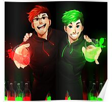 Septiplier - Glow Poster