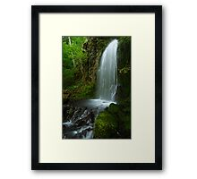 Waterfall of the Pacific Northwest Framed Print