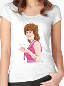 Just Call Me Billie Adrienne Barbeau Women's Fitted Scoop T-Shirt