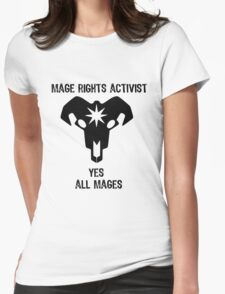 Pro-Mage Dragon Age  Womens Fitted T-Shirt